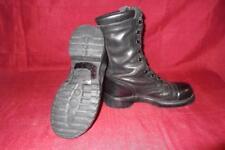 Military 7 M Corcoran Black Leather Jump Combat Boots USGI Men Boys Vietnam #415