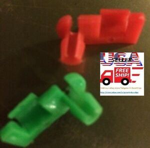 CADILLAC Pontiac Oldsmobile DODGE  GMC & More door / tailgate Rod Clips 1-pair