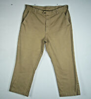 Gant Mens University 2 Ply Chino W36 L34 Mens Khakis Pants Size 36 H09