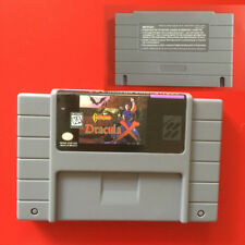 Castlevania Dracula X  SNES Super Nintendo 16 Bit NTSC Video Game USA Version