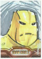 Iron Man 2 Movie Upper Deck 2010 Sketch Card 1/1 Artist Brian Shearer