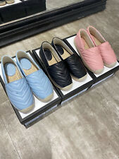 2020ss Fashion New Women's Real Leather Flat Single Shoes Outdoor Casual Shoes