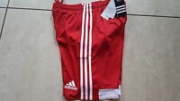 Adidas Sporthose Fußball neu Größe XXXL  rot/weiß