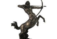 Resin Statues Rearing Centaur Shooting Arrow Bronze Finish Statue 14 Inch 10.