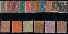 Indo China 1904-1906 SC 24-40 Set H/LH CV $668