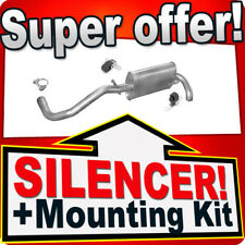 Rear Silencer SEAT AROSA VOLKSWAGEN LUPO 1.4TDI 1.7SDI 97-05 Exhaust Box XYH