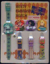Multi Fantasy Watch GOBBO NOTRE DAME Disney anni '90 gadget Nestlè 4 in 1 MIB