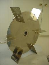 "25.75"" dia 6 blade stainless steel disk turbine impeller bio pharma biotech"