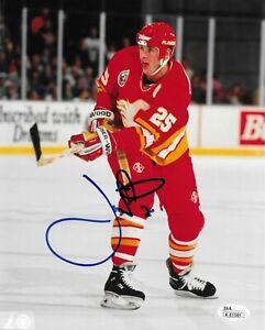 Joe Nieuwendyk Signed 8x10 Photo Autographed JSA COA Calgary Flames