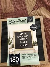 NWT Customizable Letter Board Office Home Decor Decoration NEW