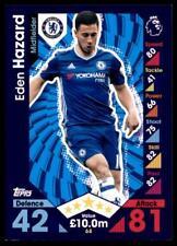 Match Attax 2016-2017 Eden Hazard Chelsea tarjeta base Nº 68