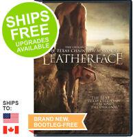 Leatherface (DVD, 2017) NEW, Sealed, Stephen Dorff, Lili Taylor, Texas Chainsaw