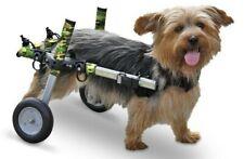 Walkin Walking Wheels Wheelchair for Handicapped Pets 8-25 lbs Camo Small Dog