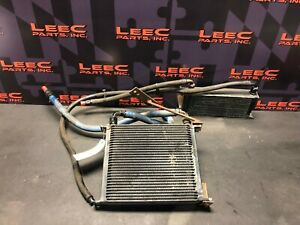 2010 MITSUBISHI EVOLUTION 10 EVO X AFTERMARKET SST MR DUAL TRANSMISSION COOLER