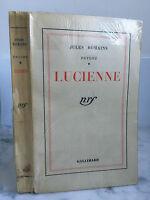 Jules Romani Psiche Lucienne NRF Gallimard 1942