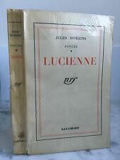 Jules romains Psyché Lucienne nrf Gallimard 1942