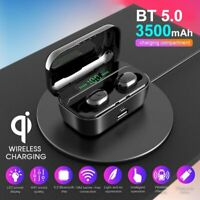 IPX7 Waterproof Touch Mini True Bluetooth 5.0 Earbuds Wireless Headset Headphone
