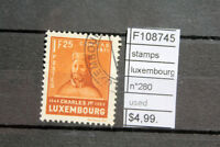 STAMPS LUXEMBOURG N°280 USED (F108745)