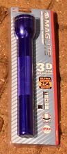 MAGLITE 3-D Cell Flashlight, Purple Krypton Mag Lite Maglight Mag-lite 3 D Cell