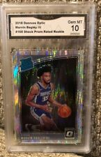 Marvin Bagley Rookie 2018 Donruss Optic Shock Prizm Graded 10 Kings