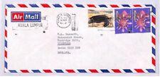 XX243 1980 MALAYSIA Kuala Lumpur GB Devon Airmail Cover *USE THE POSTCODE*
