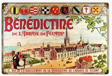 Benedictine Liqueur by Alexander Le Grand 19th Century Sign