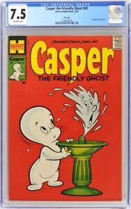 CASPER THE FRIENDLY GHOST 65 CGC 7.5 HARVEY FILE COPY 1958
