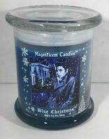 Elvis Blue Christmas Candle - Memphis - Graceland