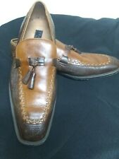Stylish Men Genuine Leather Chocolate & Brown Shoe  US 10.5