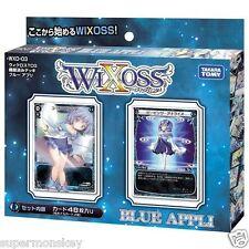 TAKARA TOMY WIXOSS WXD-03 DECK BLUE APPLI 48 TCG CARDS WX80881