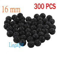 300 pcs Aquarium 16mm Bio Balls FREE Bag Filter Media Wet/Dry Koi Fish Pond Reef