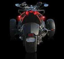 Can Am Spyder LED Taillight Bar - Amber LEDs & Smoke Tube- SPY-TRU-TAIL-AS