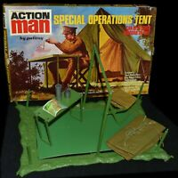 Action Man VAM Palitoy Unused Mint Special Operations Tent With Box Stars c1973
