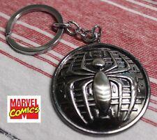 SPIDER MAN Spider-man logo MARVEL Comics Movie Full Metal Key chain cosplay