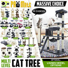 Cat Tree Scratching Post Scratcher Pole Gym Toy House Furniture Multi Level  <br/> ✔Large Varieties ✔Non-Toxic ✔Sturdy Structure âœ