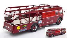Fiat Renntransporter 642 RN2 Bartoletti Ferrari race rot diecast 1:18 CMR
