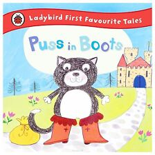 Ladybird First Favourite Tales Puss in Boots-ExLibrary