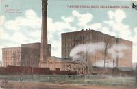 Postcard Pawnee Cereal Mills Cedar Rapids Iowa
