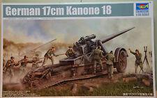 Cannone - German 17cm Kanone 18 - kit mezzi militari TRUMPETER 1/35