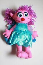 "NWT Sesame Street Abby Cadabby Plush Backpack Doll Bag Large 14"" Licensed"