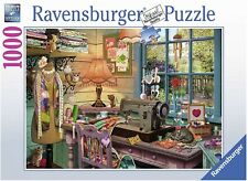 Ravensburger The Sewing Shed 1000 Piece Jigsaw Puzzle - New - Fast shipping