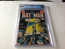 BATMAN 249 CGC 9.4 WHITE PAGES ROBIN PISTOL AND RIFLE COVER DC COMICS