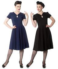 Hell Bunny Riley Rockabilly Retro Vintage Day Tea Dress XL-4XL