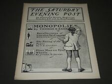 1900 FEBRUARY 10 THE SATURDAY EVENING POST MAGAZINE - ILLUSTRATED COVER - SP 570