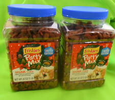 Purina Friskies Party Mix Cat Treats *lot of 2 * 20 oz Total of 40 ozs FAST SHIP