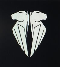 Buell EBR Pegasus Decals. 1 Pair. White