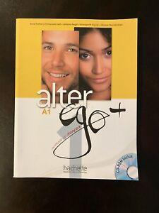 Alter Ego + A1 Méthode de français Textbook and Workbook, CD-ROM Included