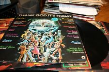 Thank God It's Friday Original  Motion Picture Soundtrack 3 Records