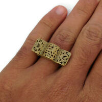 rare ancient bronze ring viking artifact bronze ring authentic amazing