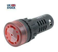 230V AC 28mm LED Light Lamp Pilot Panel Indicator Signal Warning 220-240V AC